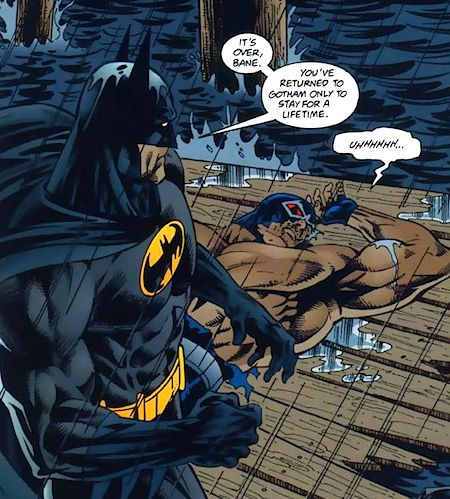 Batman Versus Bane in Batman Legacy