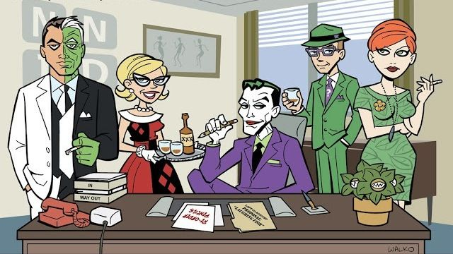 Batman Mad Men SR Geek Picks: Batman Mad Men, Bane Mugs, Yoda In Human Form, Gandalf Style & More!