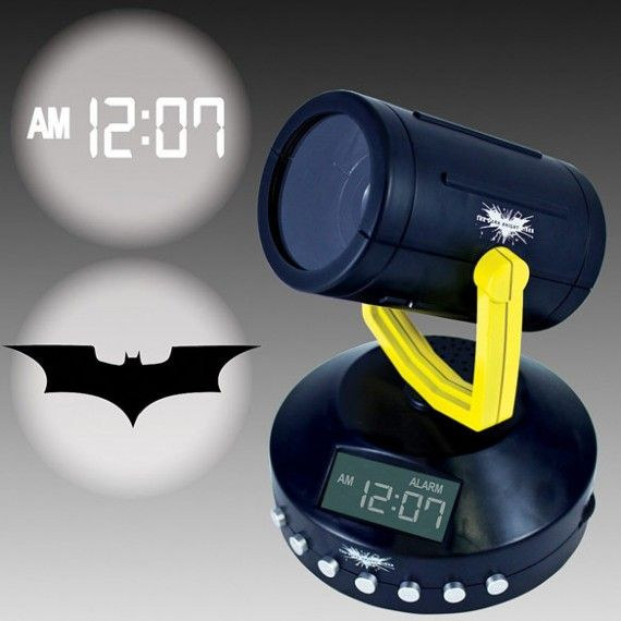 Batman Signal Projection Alarm Clock 570x570 SR Geek Picks: Comic Con Survival, Silver Linings Playbook Alternate Ending & More