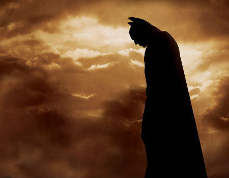 Batman Stands Alone in Batman Begins