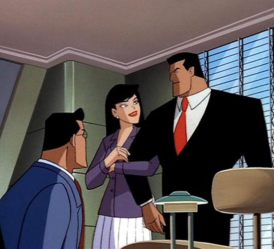 Batman Superman Movie - Clark Kent, Lois Lane, Bruce Wayne