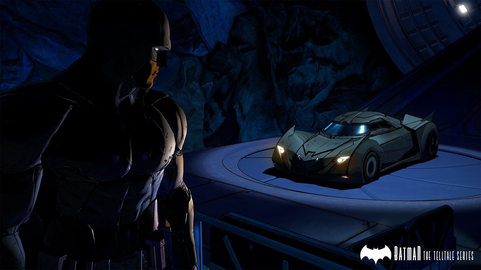 Batman: The Telltale Series Batman-Telltale-Batcave-Batmobile