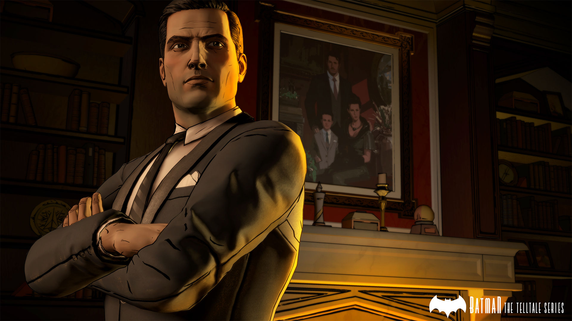 Batman: The Telltale Series Batman-Telltale-WayneManor