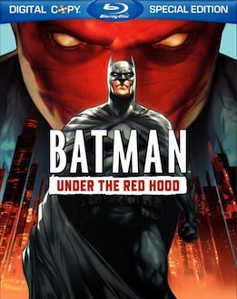 Batman Under the Red Hood box art DVD/Blu ray Breakdown: July 27th, 2010