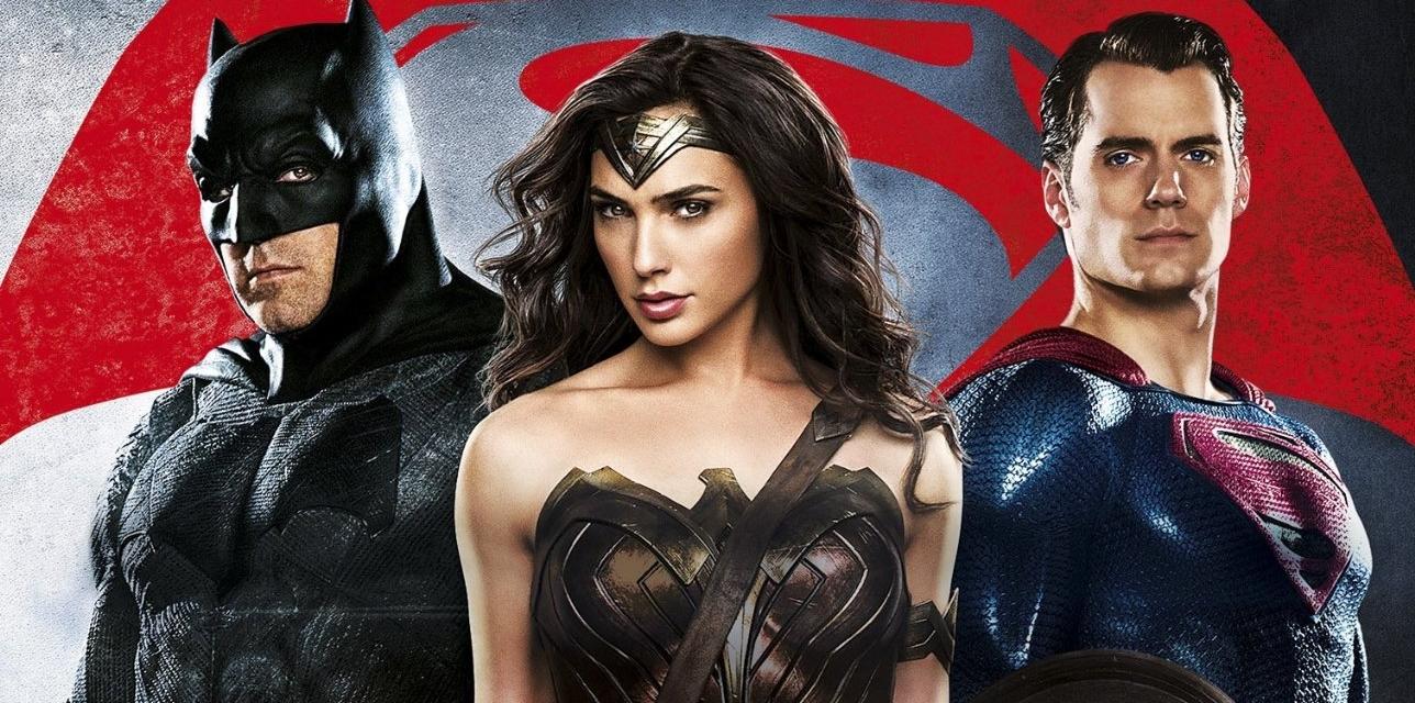 Batman V Superman Wonder Woman Trio