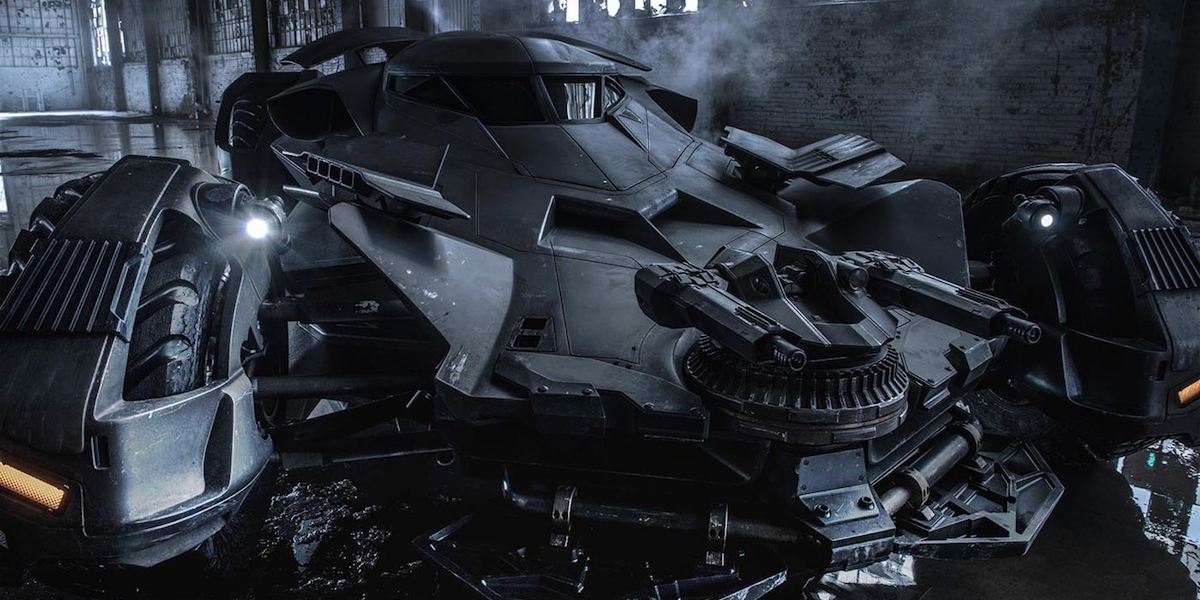Batmobile Starring In 'Batman v Superman' Is A 205-MPH Beast