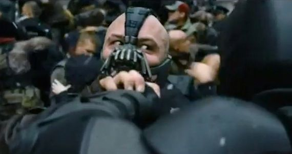 Batman Versus Bane Dark Knight Rises Dark Knight Rises MTV Awards Trailer; New TV Spots & Run Time Revealed