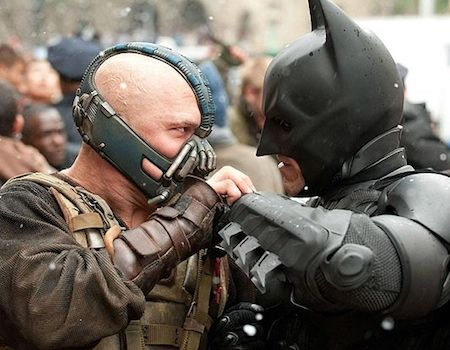 Batman Versus Bane Dark Knight Rises