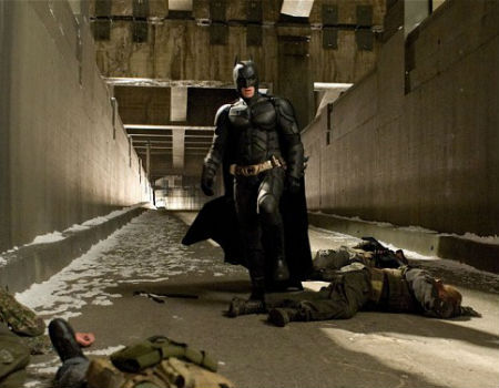 Batman and Bodies in the Dark Knight Rises