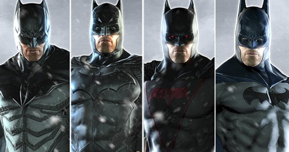 Top 10 Alternate Batman Suits - YouTube