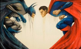 Batman vs. Superman Promo Artwork 2 280x170 Batman vs. Superman Artwork Revealed at Man of Steel Fan Event