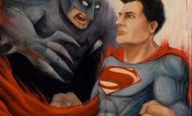 Batman vs. Superman Promo Artwork 280x170 Batman vs. Superman Artwork Revealed at Man of Steel Fan Event