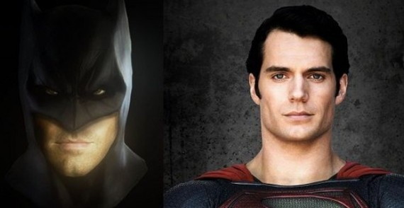 Batman vs. Superman starring Ben Affleck and Henry Cavill1 570x294 Should Batman vs. Superman Include Dick Graysons Nightwing?