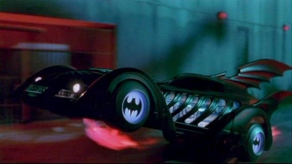 Batmobile 1995 Batman Forever 570x320 1995 Batman Forever Batmobile