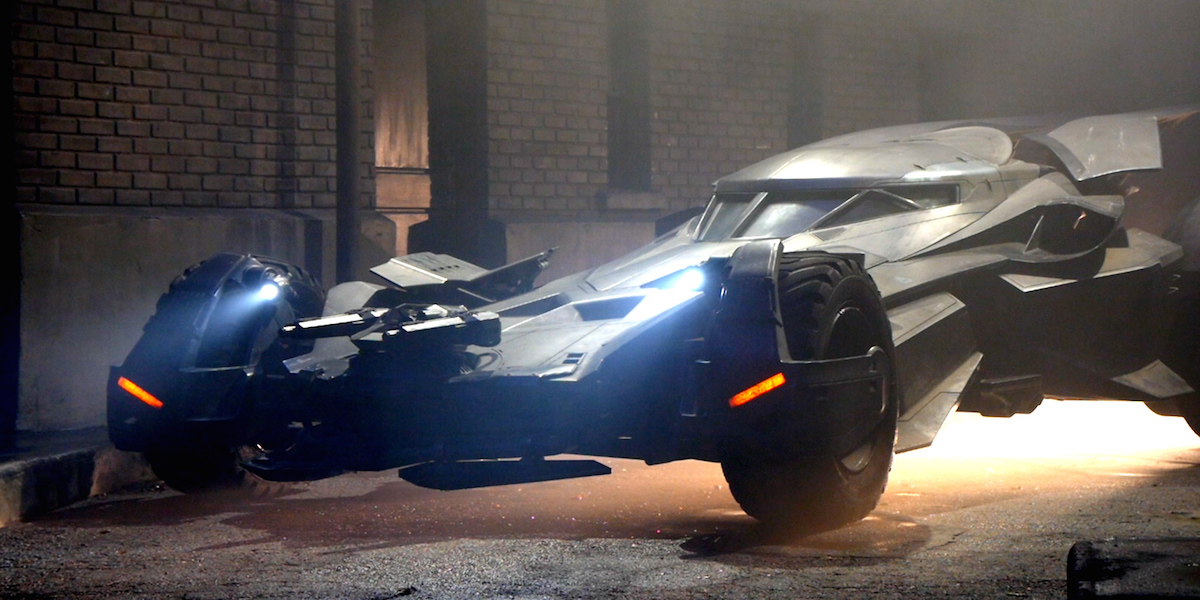 'Batman V Superman' Batmobile Backstory, Specs, & Top Speed