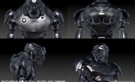 Battlestar Galactica Blood and Chrome cylon design 280x170 Battlestar Galactica: Blood and Chrome Concept Art