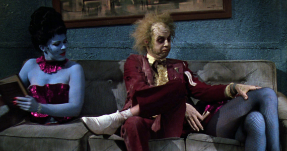 Beetlejuice in the waiting room