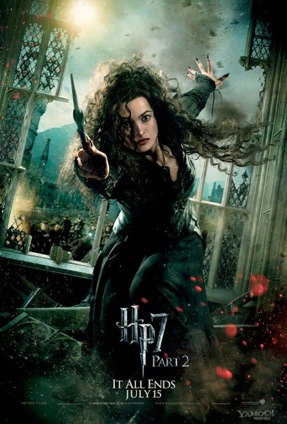 Bellatrix Lestrange in Harry Potter and the Deathly Hallows Part 2 570x841 Bellatrix Lestrange in Harry Potter and the Deathly Hallows Part 2