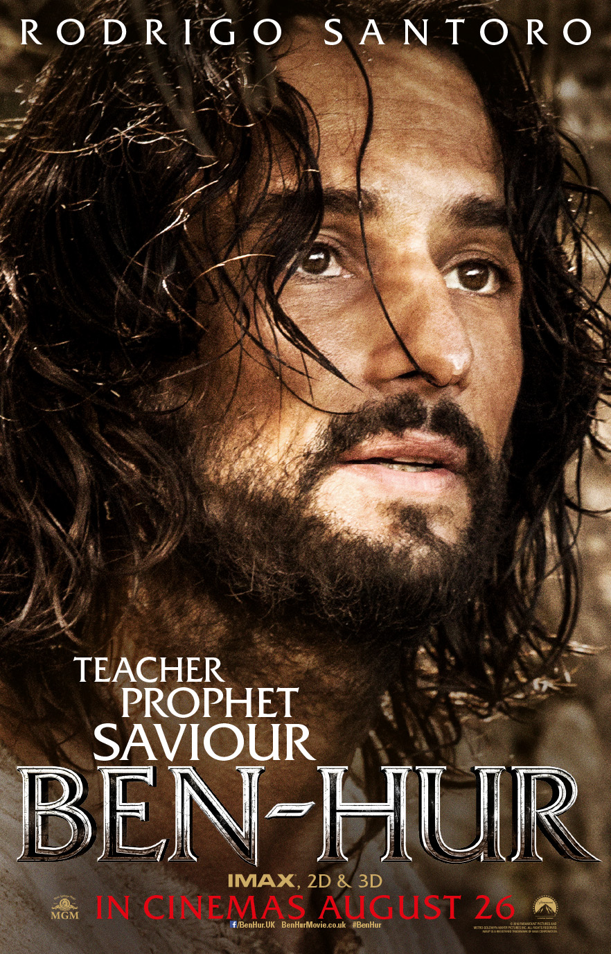 benhur movie posters amp two new tv spots first to finish