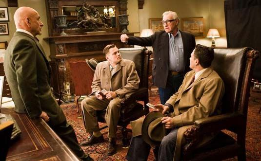 Ben Kingsley Leonardo DiCaprio Martin Scorsese and Mark Ruffalo Shutter Island Shutter Island Ending Explanation & Discussion