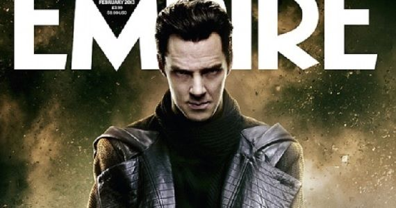 Benedict Cumberbatch as John Harrison in Star Trek Into Darkness Empire magazine cover Star Trek Into Darkness: Benedict Cumberbatch Discusses Villain Reveal [Spoilers]