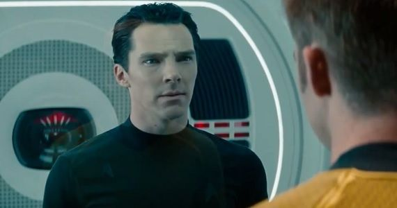 Benedict Cumberbatch as John Harrison in Star Trek Into Darkness1 Star Trek Into Darkness: Benedict Cumberbatch Discusses Villain Reveal [Spoilers]