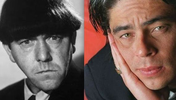 Benicio Del Toro The Three Stooges Moe Howard Benicio Del Toro Still the Front Runner for Moe in The Three Stooges