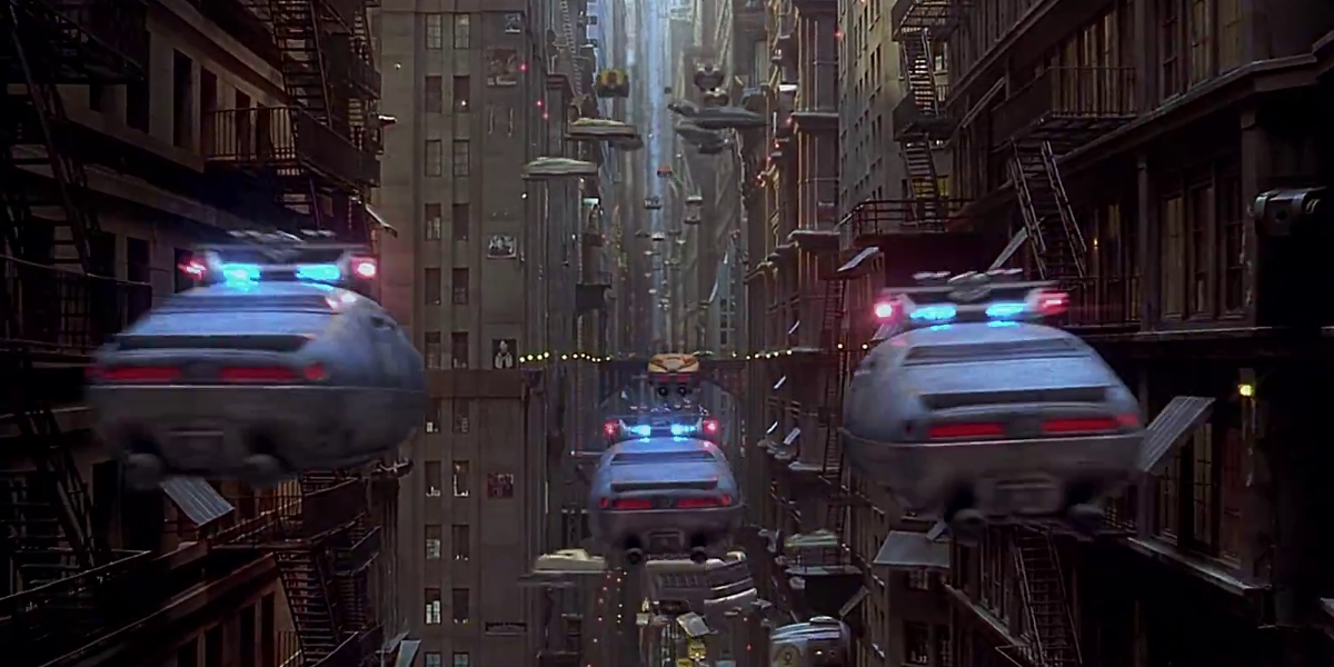 Futurology Designing A Traffic System For Flying Cars