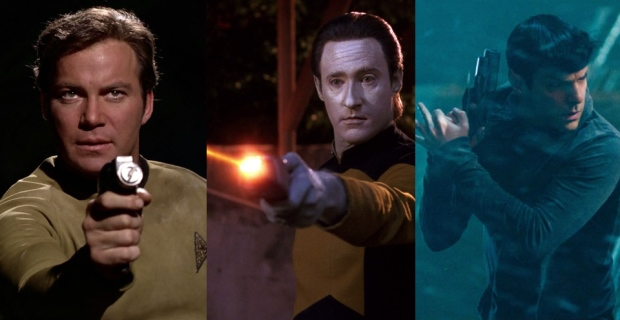 Best Movie TV Weapons Star Trek Phasers