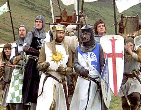 Best Parody Films - Monty Python Holy Grail
