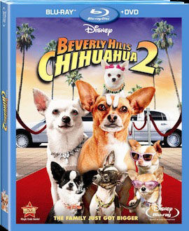 Beverly Hills Chihuahua DVD blu ray box art DVD/Blu ray Breakdown: February 1st, 2011