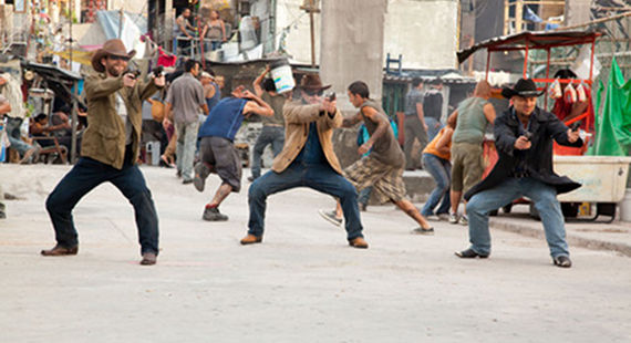 Big Shootout in Get the Gringo Get the Gringo Review