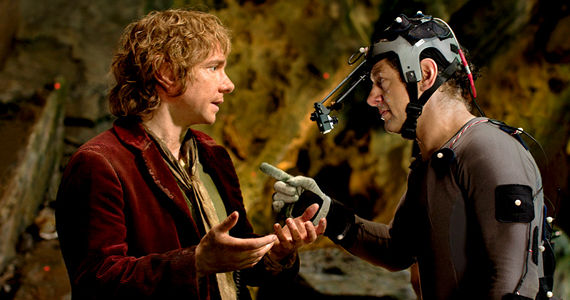 Bilbo and Gollum Andy Serkis in The Hobbit An Unexpected Journey The Hobbit: An Unexpected Journey: 10 Things You Need to Know Before Seeing the Film
