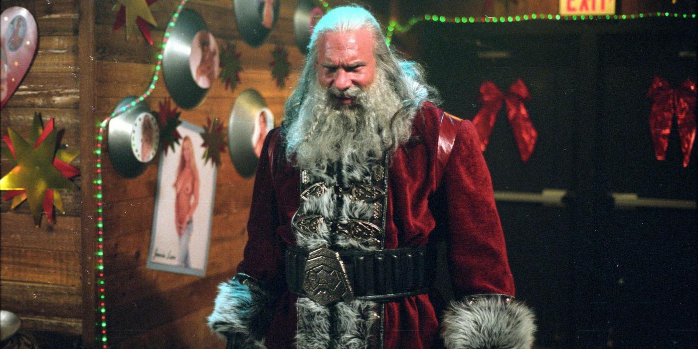 Bill Goldberg Santa Slay 15 Creepiest Movie And TV Santas Of All Time