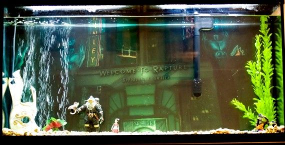 Bioshock Fish Tank 570x290 SR Geek Picks: Red Wedding Alternate Ending, Teletubbie Avengers & More