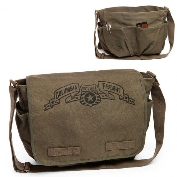 Bioshock Infinite Columbia Freight Messenger Bag 570x570 SR Geek Picks: How Oblivion Shouldve Ended, Superhero Life Expectancies & More