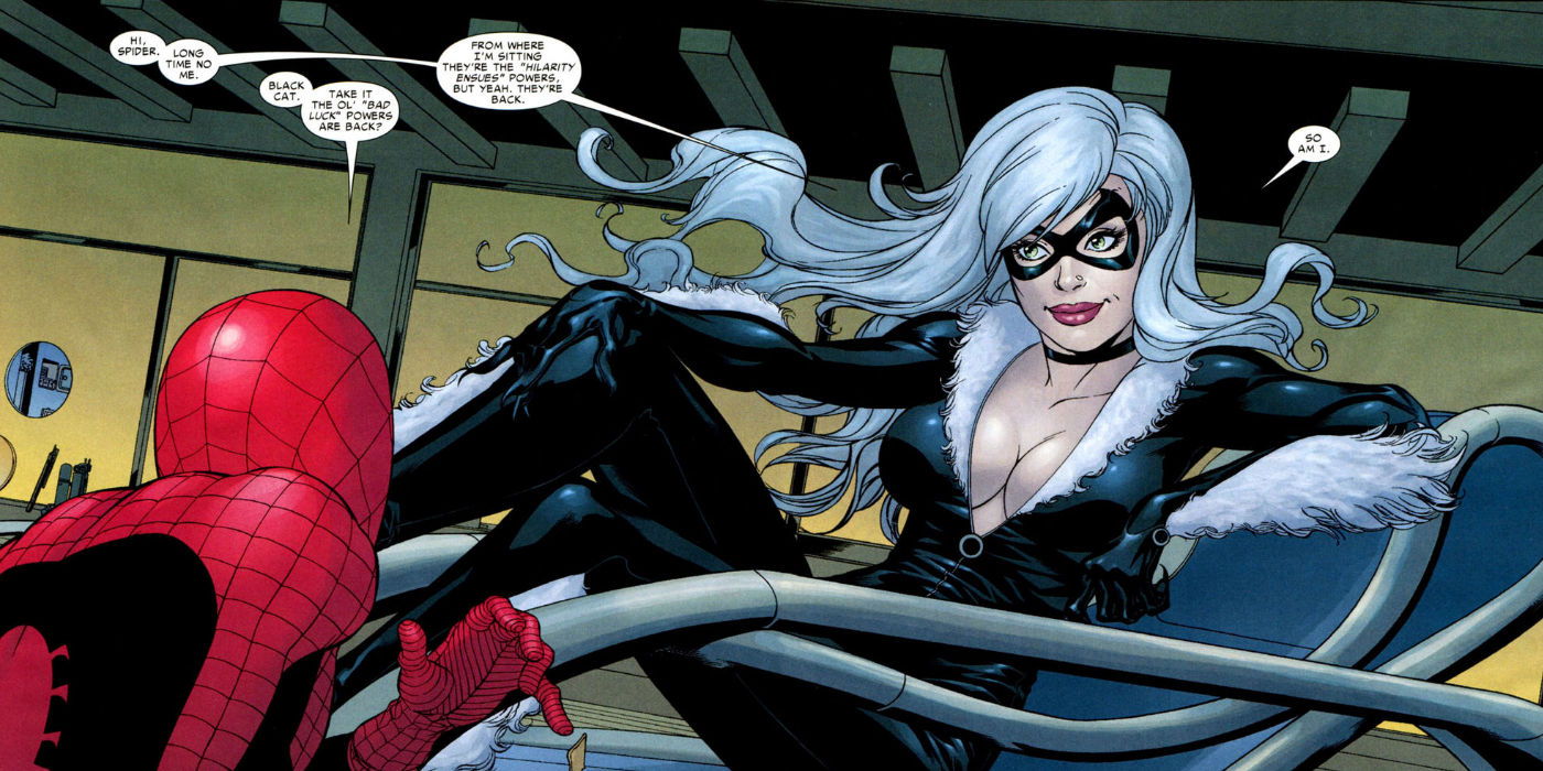 Black Cat and Spider Man in Marvel Comics Silver & Black Movie Trailer, Cast, Every Update You Need To Know