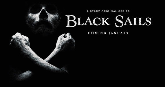 Black Sails Poster TV News Wrap Up: Jason Sudeikis Confirms SNL Exit, Once Upon a Time Casts Tinker Bell & More