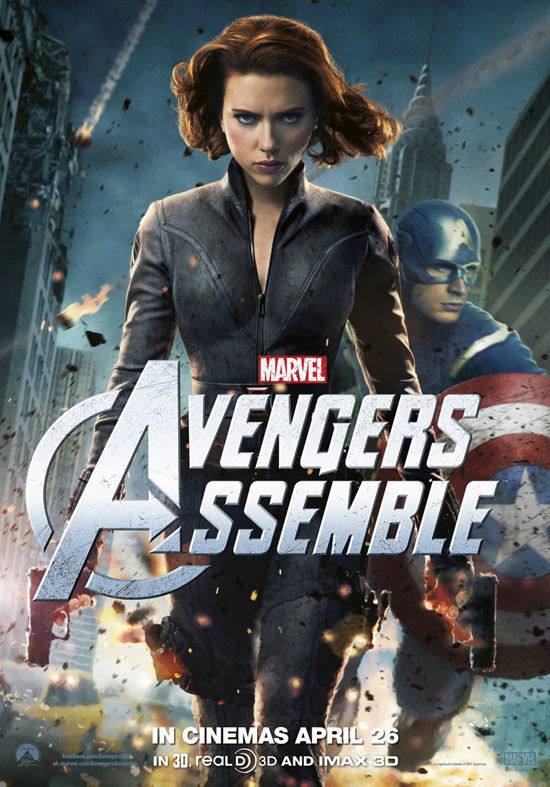 Black Widow Avengers Poster Black Widow Avengers Poster