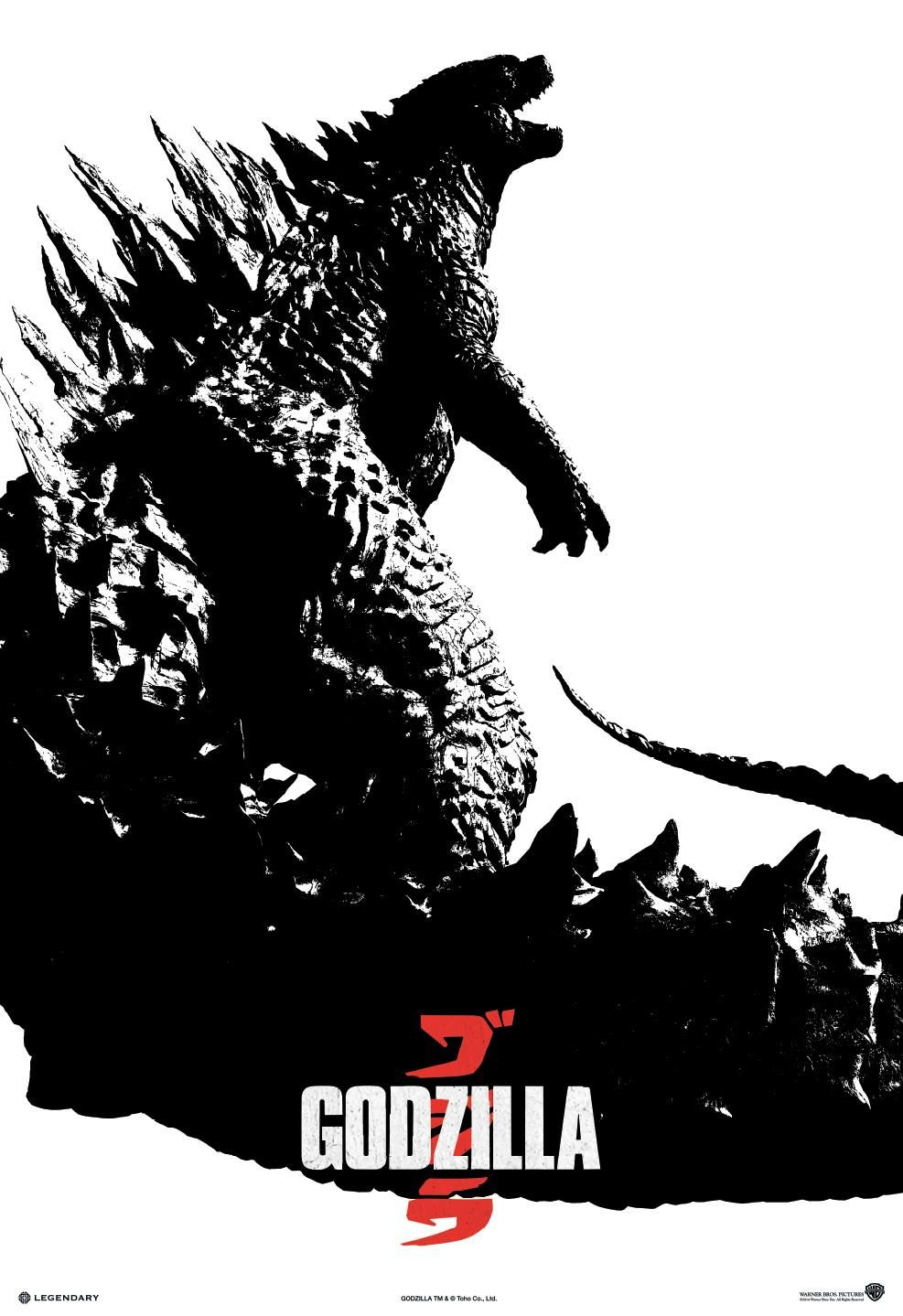 new godzilla poster clear monster image. Black Bedroom Furniture Sets. Home Design Ideas