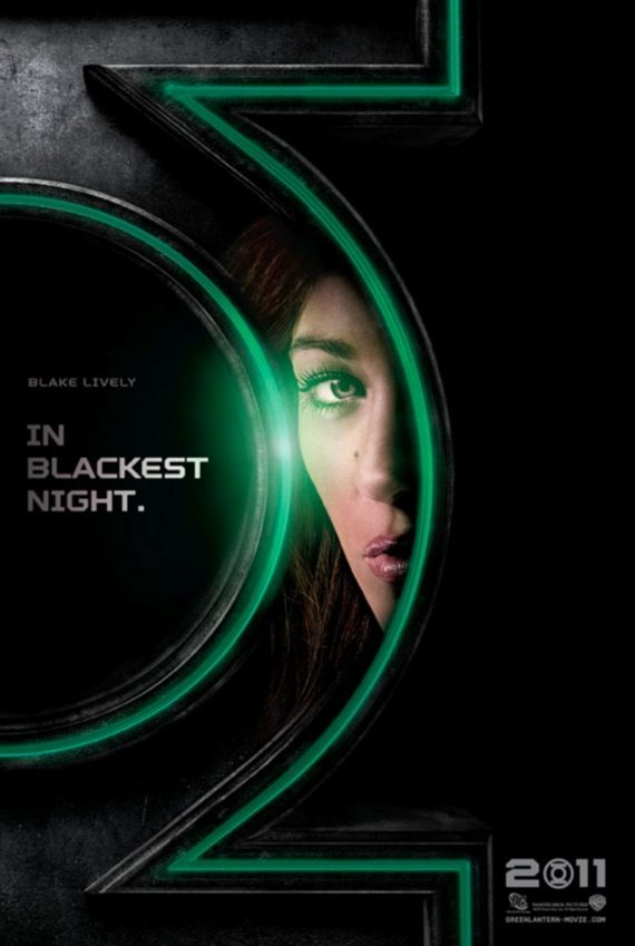Blake Lively as Carol Ferris in the Green Lantern movie New Green Lantern Movie Posters