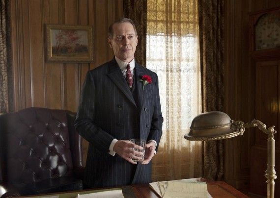 Boardwalk Empire Season 3 Photo Nucky in Office 570x404 Boardwalk Empire Season 3 Photo   Nucky in Office