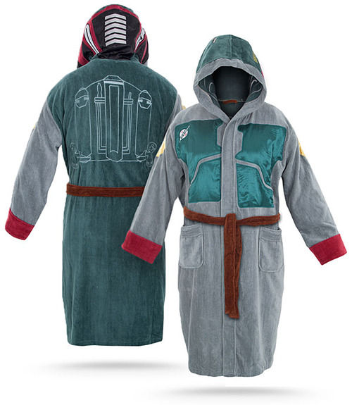 Boba Fett Bathrobe SR Geek Picks: Bad Lip Reading New Moon, Deadpool & Boba Fett BFFs, Real Up House & More!