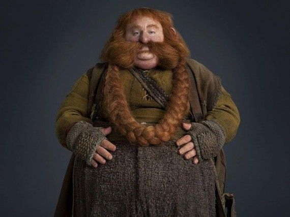 Bombur the Dwarf The Hobbit 570x427 Bombur the Dwarf The Hobbit