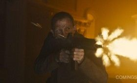 Bond Shoots Bad Guys in Skyfall  280x170 New Skyfall Images; Cast Video Interviews