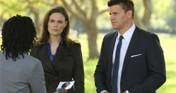 Bones Season 8 Episode 6 The Patriot in Purgatory Brennan and Booth Bones Renewed for Season 9