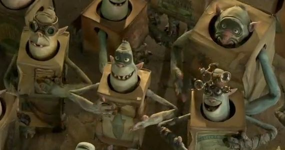 Boxtrolls Trolls The Boxtrolls Behind the Scenes Featurette: Laikas Genius At Work