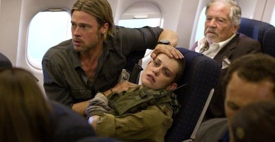 Brad Pitt Daniella Kertesz World War Z World War Z Original Ending Revealed; Sequel to Begin Development