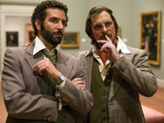 Bradley Cooper and Christian Bale in American Hustle 570x429 Bradley Cooper and Christian Bale in American Hustle