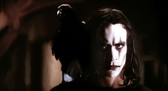 Brandon Lee The Crow James McAvoy Circling The Crow Reboot?